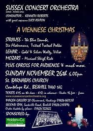 a viennese christmas in bexhill on sea friday ad