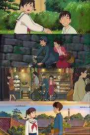from up on poppy hill ghibli umi and shun wallpaper studio