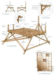 Small Woodworking Project Plans Free by Free Deluxe Tree House Plans Food And Drink Pinterest Tree