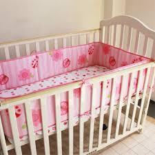 Ladybug Crib Bedding Set 3 Pcs Cotton Baby Bedding Set Ladybug Crib Bedding Set For