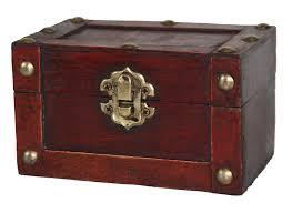 amazon com vintiquewise tm mini treasure chest small home