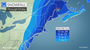 Show Me The Weather Map Snowstorm Pounds Mid Atlantic Eyes New England As A Blizzard