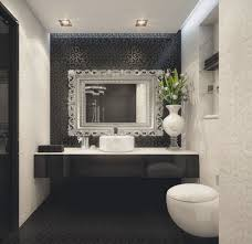 Black Ceramic Subway Tile Marco Costanzi Roma Bathroom Interiors - Bathroom designs black and white