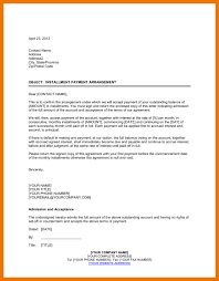 6 payment agreement template assistant cover letter