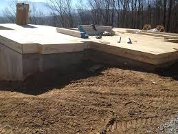 Sub Floor by Hill Subfloor And Log Walls Custom Timber Log Homes