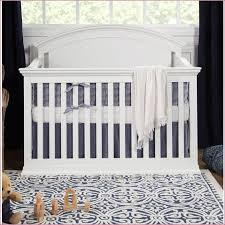 Modern 4 In 1 Convertible Crib Convertible Cribs Solid Wood Modern Silver Wood