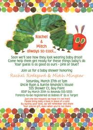unisex baby shower hungry hungry caterpillar baby shower invitation