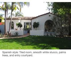 1920 u0027s spanish style exterior paint and windows first home