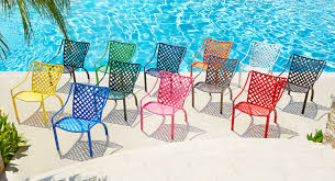Teal Colored Chairs by Exciting Vinyl Strap Colors For Summer 2016 The Southern Company