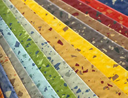 Commercial Flooring Systems Rubber Flooring Has A Wide Range Of Color And Texture Combinations
