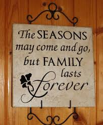 family quotes sayings on family tile decals