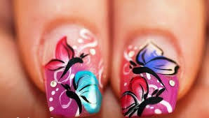 Migi Nail Art Design Ideas Tutorial Tuesday Butterfly Wing Saran Wrap Nail Art Adventures