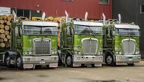 new kw trucks celebration of 50 years of kenworth trucks in new zealand x trucking