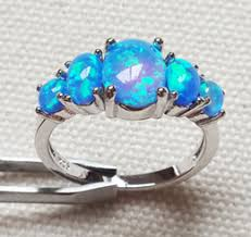 blue opal engagement rings blue opal engagement rings blue opal engagement