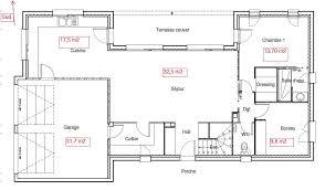 plan de maison a etage 5 chambres plan maison en l avec etage partiel maison1 plans