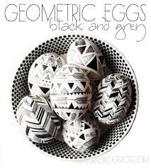 Easter Egg Decorating Pens by Alisaburke Geometric Eggs