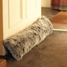 icon luxury indoor faux fur draught excluder mink luxurious