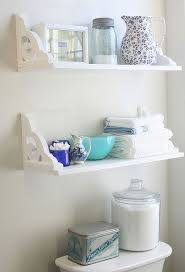 Bathroom Storage Shelf Best 25 Bathroom Shelves Ideas On Pinterest Half Bath Decor