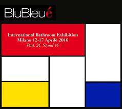 blubleu at international bathroom exhibition milan blubleu