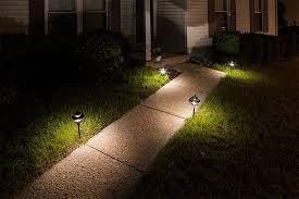 led landscape path lights dual tier 4 watt aluminum housing