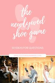 the shoe game ideas for questions