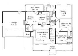 one story home floor plans 13 best one story homes images on ranch home plans