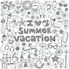 summer vacation coloring pages intricate coloring pages archives kidspressmagazine com