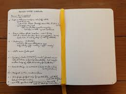 Paper With Writing Baron Fig S Confidant Notebook Reviewed Words On The Word