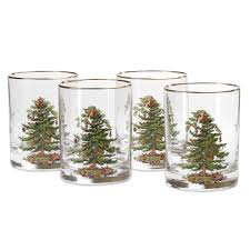 spode tree fashioned tumbler set of 4 spode uk