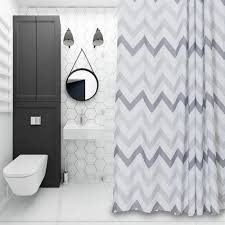 Grey And White Striped Shower Curtain Compare Prices On Shower Curtain White Online Shopping Buy Low