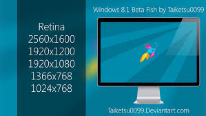 windows 8 1 beta fish by taiketsu0099 by taiketsu0099 on deviantart