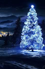 freeios7 white tree light parallax hd iphone wallpaper