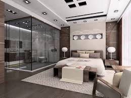 Beautiful Interior Design Modern House Master Bed Room Sealing - Interior design modern house