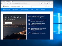 microsoft edge and internet explorer 11 are even better together animation showing microsoft edge automatically opening a site in ie11 based on the enterprise mode site