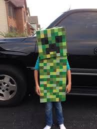 Halloween Costumes Minecraft 18 Costume Ideas Images Creeper Costume