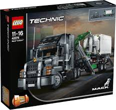 lego technic truck pictures of the first wave of lego technic 2018 sets are finally