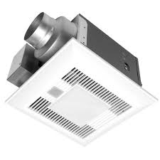 Panasonic Bathroom Exhaust Fans With Light And Heater Panasonic Deluxe 110 Cfm Ceiling Bathroom Exhaust Fan With Light