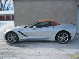 2014 blade silver metallic chevrolet corvette stingray convertible