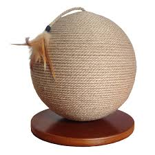 amazon com cat scratching post sphere modern round design cat