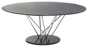 Black Oval Dining Room Table - excellent wood double pedestal oval dining table inside modern