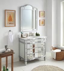 Mirrored Bathroom Furniture 30 Benton Collection Mirrored Bathroom Sink Vanity