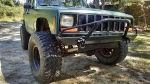 jeep prerunner bumper affordable prerunner front bumper jeep cherokee xj comanche 84 01