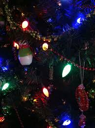 Colored Christmas Lights by The Obligatory Blog Oh Christmas Tree Oh Christmas Tree I U0027m