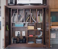 calgary desk cubby organizer home office traditional with beige