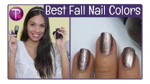 best fall nail colors hannahroxnails youtube