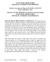 free durable power of attorney illinois form u2013 adobe pdf