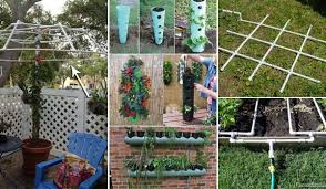 Diy Landscaping Ideas Top 20 Low Cost Diy Gardening Projects Made With Pvc Pipes