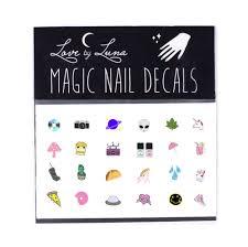 90 u0027s nail decal cute nail decal alien nail decal