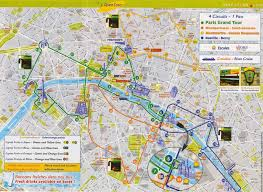 map with attractions tourist attraction map vacations travel