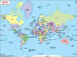 world map in map in